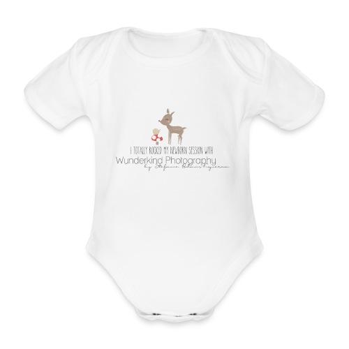Wunderkind Onesies - Baby Bio-Kurzarm-Body