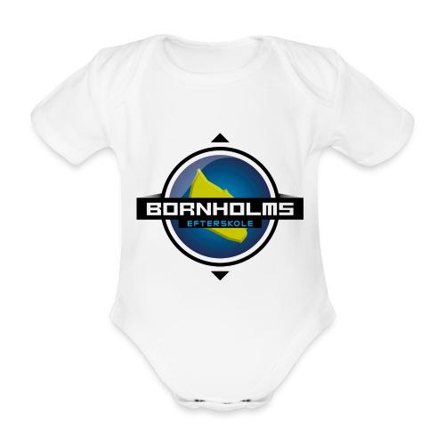 BORNHOLMS_EFTERSKOLE - Kortærmet babybody, økologisk bomuld