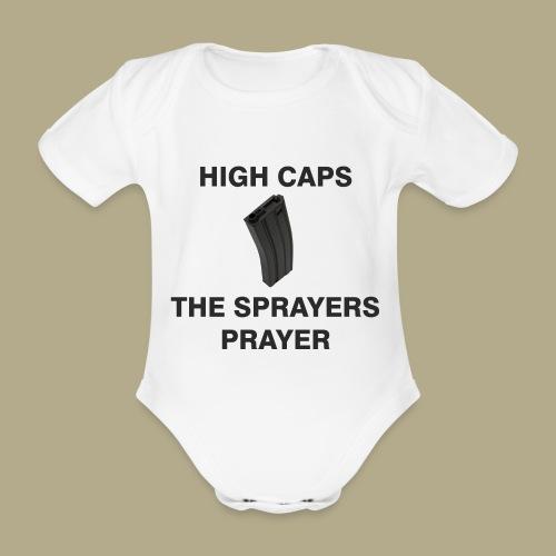 Sprayers Prayer - Baby bio-rompertje met korte mouwen