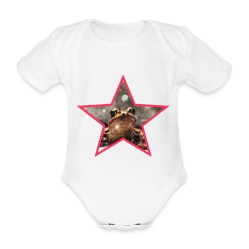 Frog Star - Ekologiczne body niemowlęce z krótkim rękawem
