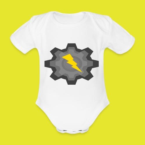 kugg - Ekologisk kortärmad babybody
