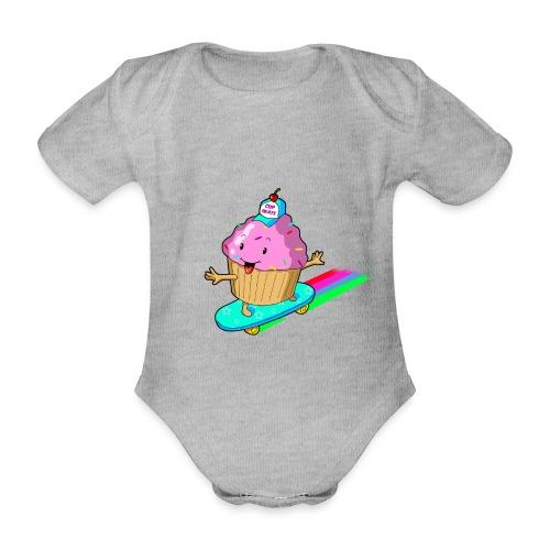 cupskate - Body Bébé bio manches courtes