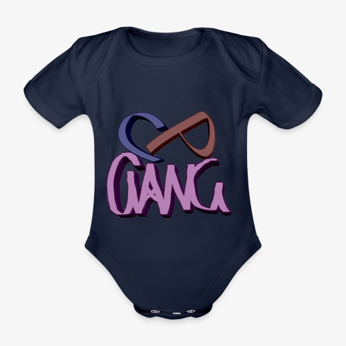 CPGANG - Vauvan lyhythihainen luomu-body