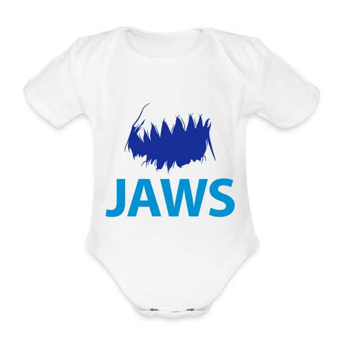 Jaws Dangerous T-Shirt - Organic Short-sleeved Baby Bodysuit