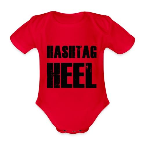 hashtagheel - Organic Short-sleeved Baby Bodysuit