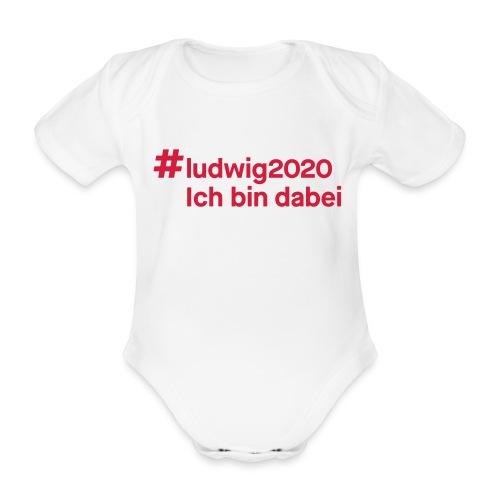 #ludwig2020 - Baby Bio-Kurzarm-Body
