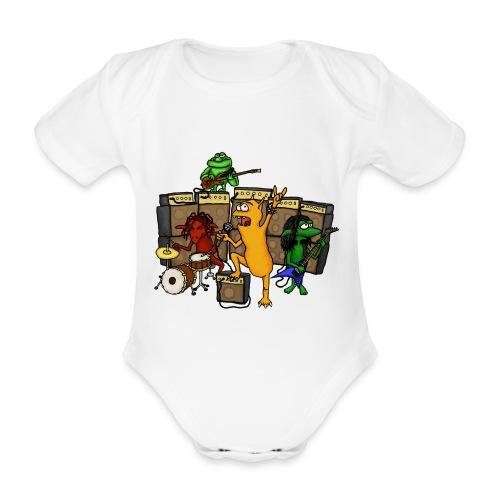 Kobold Metal Band - Organic Short-sleeved Baby Bodysuit