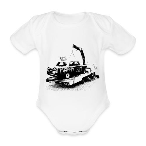 Mayhem! - Organic Short-sleeved Baby Bodysuit