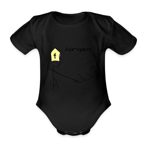 juksepave png - Økologisk kortermet baby-body