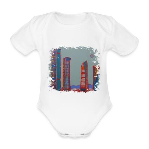 Madrid - Baby Bio-Kurzarm-Body