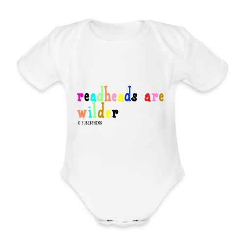 Readheads are wilder X Publishing - Ekologisk kortärmad babybody
