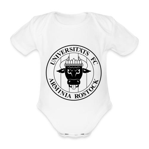 UFC Logo nur schwarz - Baby Bio-Kurzarm-Body