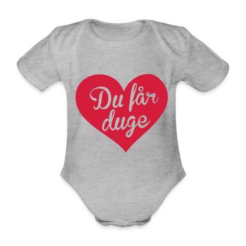 Ekte kjærlighet - Det norske plagg - Økologisk kortermet baby-body
