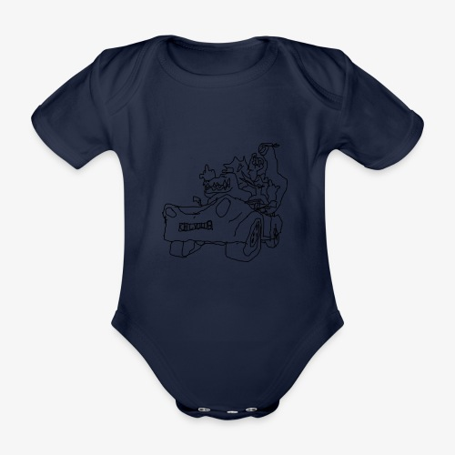 gova dinos - Body Bébé bio manches courtes