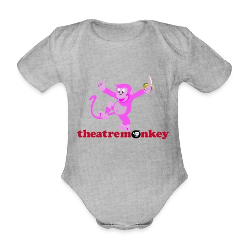 Sammy is In The Pink! - Organic Short-sleeved Baby Bodysuit