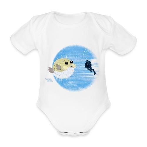 Puffer fish - T-shirts - Body Bébé bio manches courtes