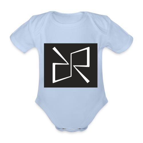 Rymdreglage logotype (RR) - Organic Short-sleeved Baby Bodysuit