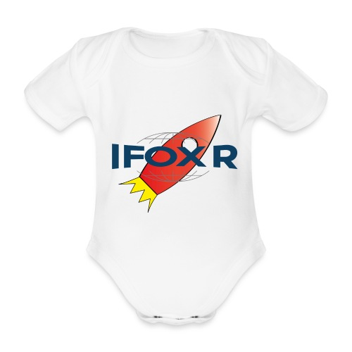 IFOX ROCKET - Ekologisk kortärmad babybody