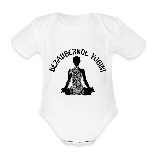 Bezaubernde Yogini - Baby Bio-Kurzarm-Body