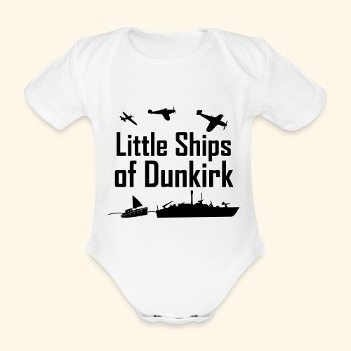 Little Ships of Dunkirk - Body Bébé bio manches courtes
