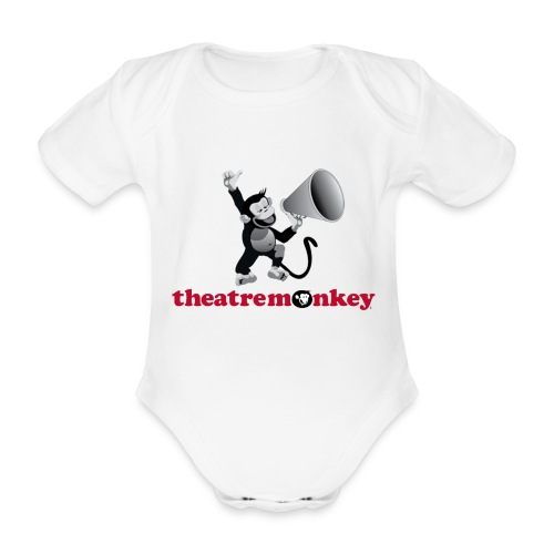 Sammy Says It Loud - Organic Short-sleeved Baby Bodysuit