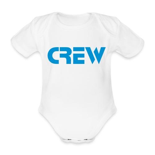 Tiny crew - Baby bio-rompertje met korte mouwen