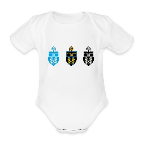 wappen 3fach png - Baby Bio-Kurzarm-Body