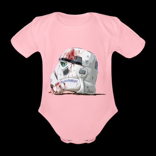 Fallen Stormtrooper - Organic Short-sleeved Baby Bodysuit
