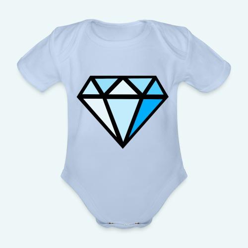 FCTimantti logo ilman tekstia - Vauvan lyhythihainen luomu-body