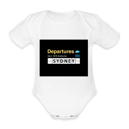 SYDNEY png - Body ecologico per neonato a manica corta