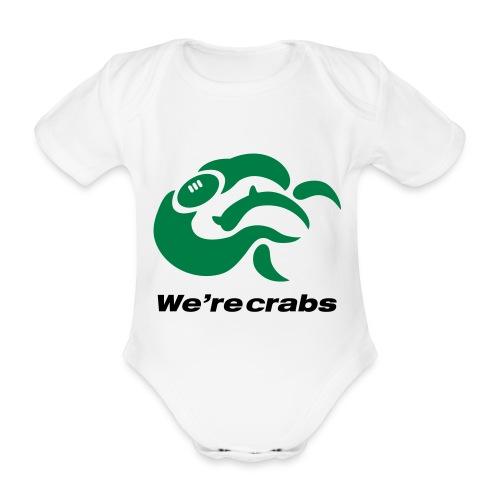 Crazycrab_Australia - Body ecologico per neonato a manica corta