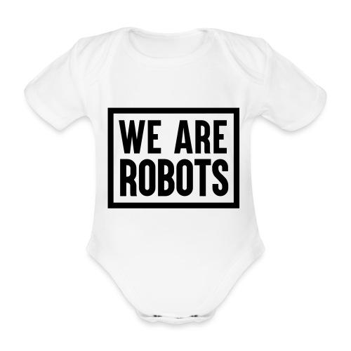 We Are Robots Premium Tote Bag - Organic Short-sleeved Baby Bodysuit
