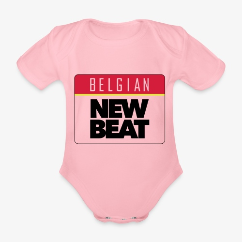 BNB LOGO - Baby bio-rompertje met korte mouwen