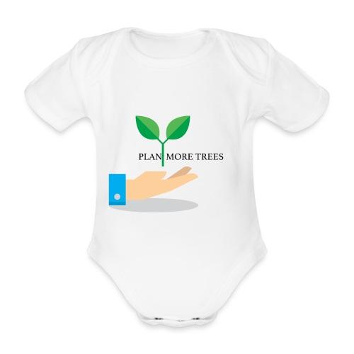 Amor a la naturaleza - Body orgánico de manga corta para bebé