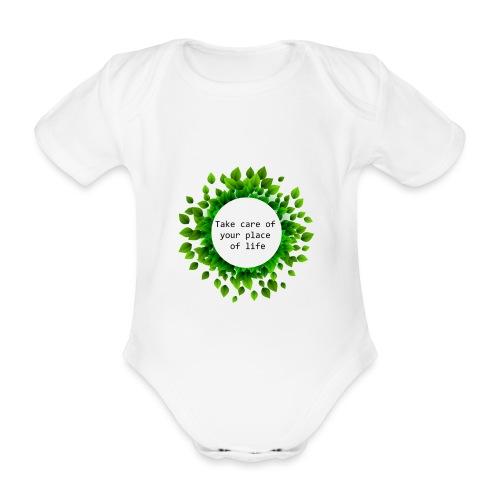 Ambiente - Body orgánico de manga corta para bebé