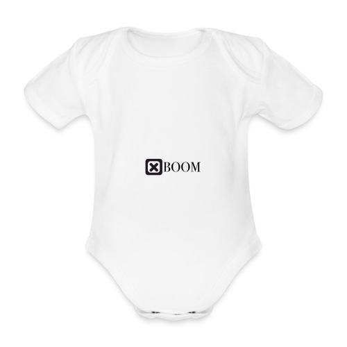 No a la guerra - Body orgánico de manga corta para bebé