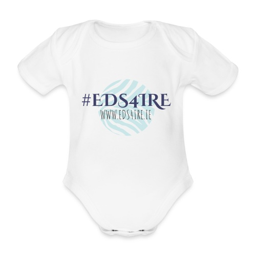 #EDS4IRE main - Organic Short-sleeved Baby Bodysuit