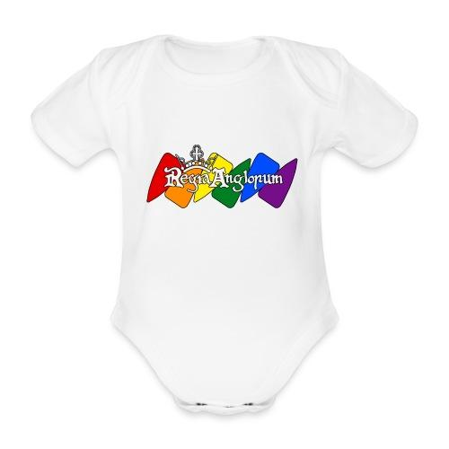 Pride Kite - Organic Short-sleeved Baby Bodysuit