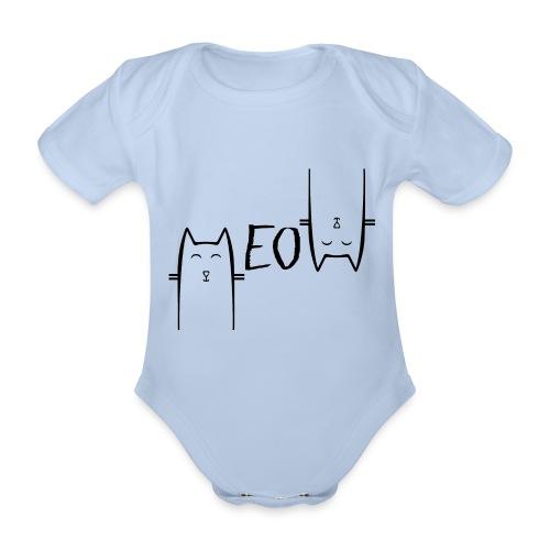 MEOW - Body Bébé bio manches courtes