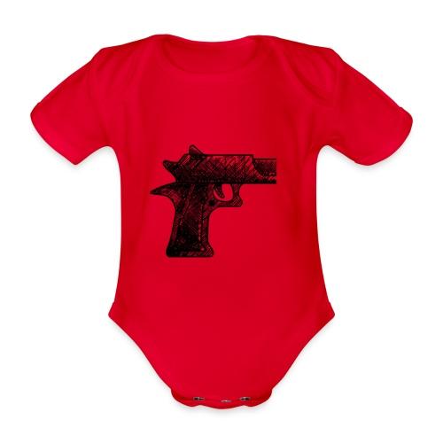 Pipa png - Baby bio-rompertje met korte mouwen