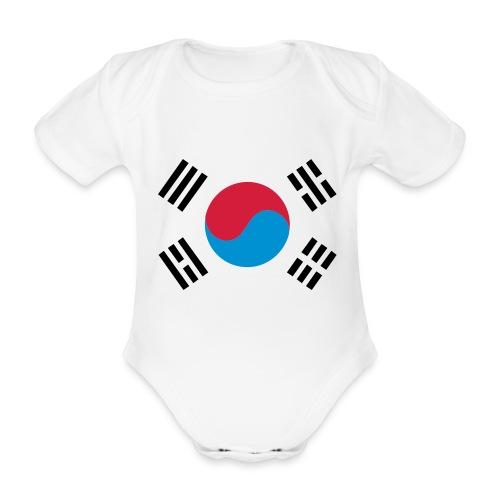 South Korea - Baby bio-rompertje met korte mouwen