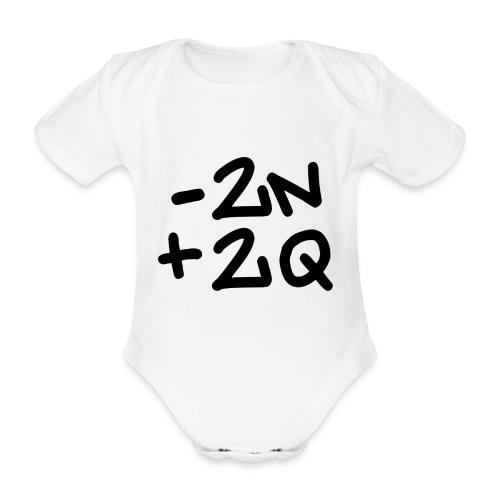 -2n+2q - Organic Short-sleeved Baby Bodysuit