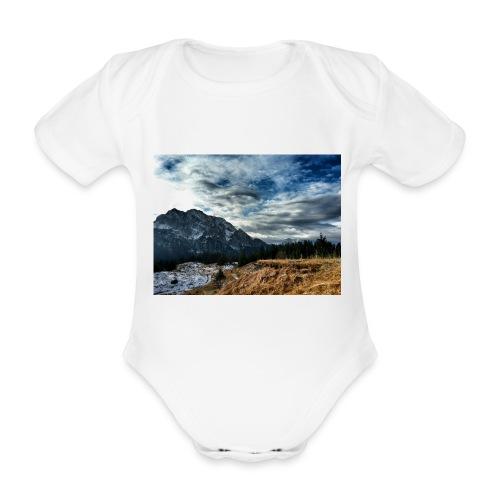 Wolkenband - Baby Bio-Kurzarm-Body