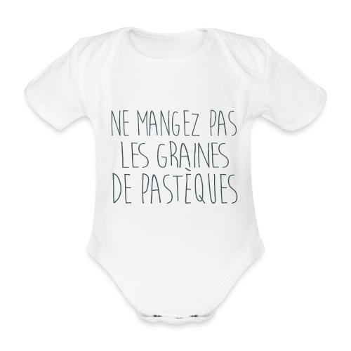 T-Shirt-Femme-Enceinte-personnalise - Body Bébé bio manches courtes