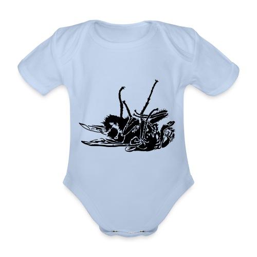 mouche morte - Body Bébé bio manches courtes