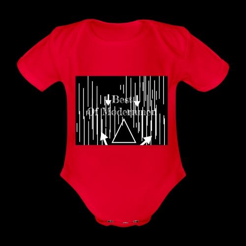Bestofmodernmen - Body ecologico per neonato a manica corta