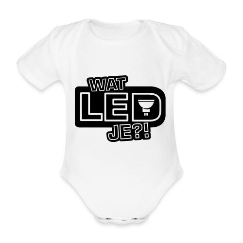 bbb watledje - Organic Short-sleeved Baby Bodysuit