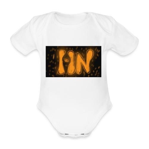 Logró de tienda - Body orgánico de maga corta para bebé