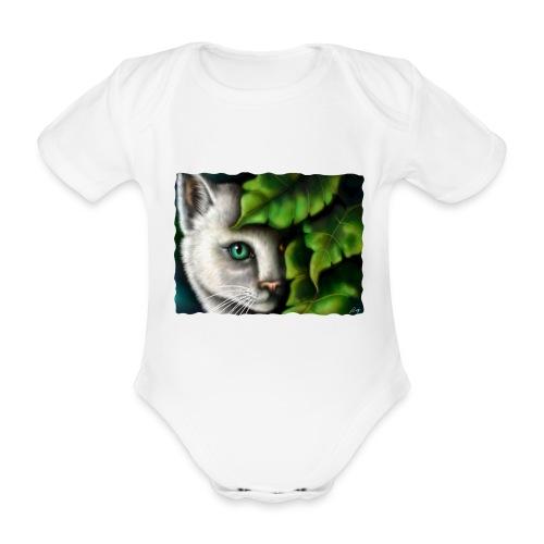 Gatto Shiva - Body ecologico per neonato a manica corta
