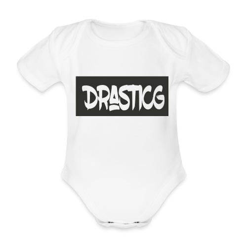 Drasticg - Organic Short-sleeved Baby Bodysuit